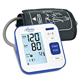 Digitales Automatisches Blutdruckmessgerät für Oberarm - Blutdruck messgeräte für Blutdruck und Herzfrequenz, Hintergrundbeleuchtung Großes LCD-Display, 2x120 Speicherkapazität, FDA/CE zertifiziert